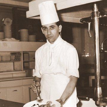 Lo Chef della prima gestione