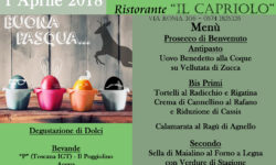 Menù pranzo Pasqua Ristorante Prato Toscana