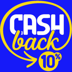 Cahsback 10%